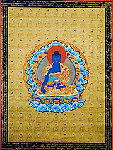 Les hommes bleus Medicinebuddha